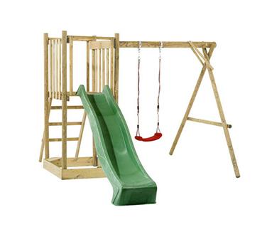 Place zabaw i trampoliny