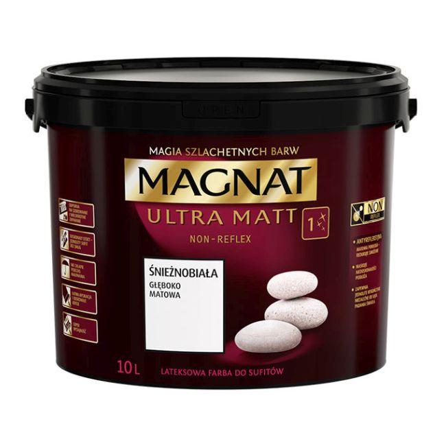 Farba Magnat Ultra Matt śnieżnobiała 10 l