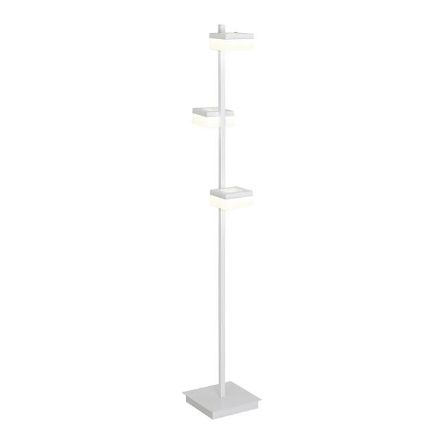 Lampa stojąca LED Cubo 1 x 36 W biała