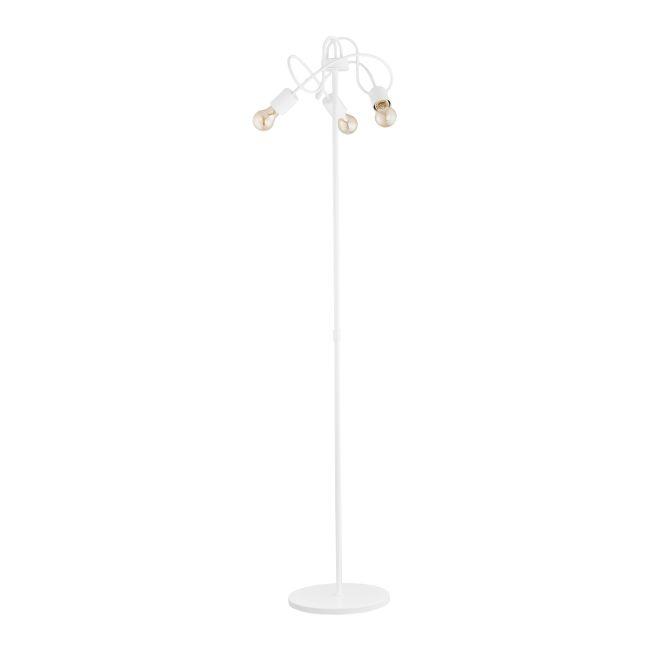 Lampa stojąca Tango 3 x 60 W E27 white