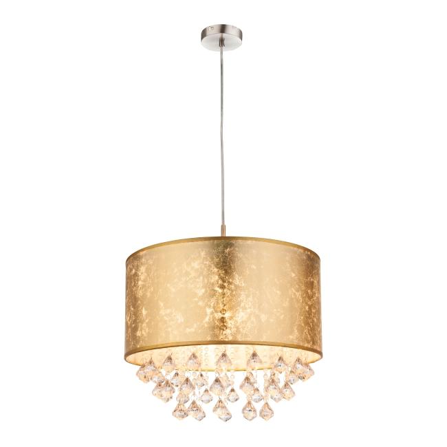 Lampa wisząca Amy 1 x 60 W E27 złota