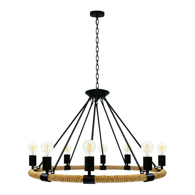 Lampa wisząca Arthur 8 x 60 W E27