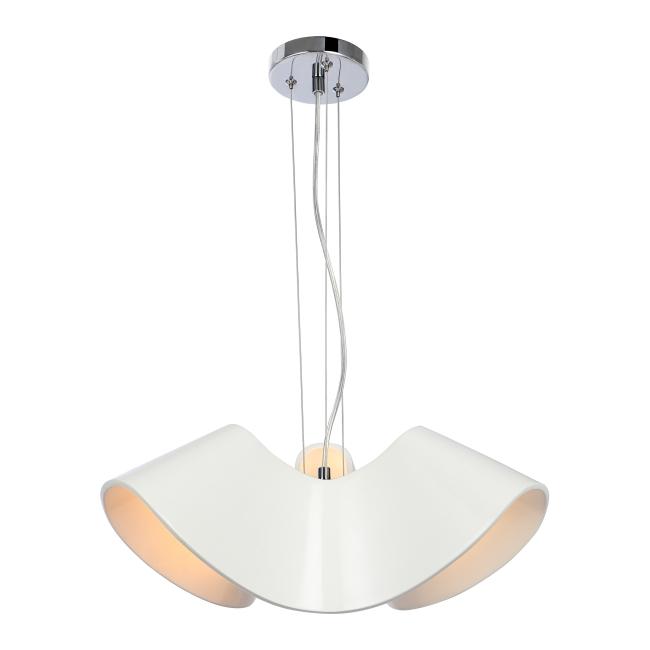 Lampa wisząca Catalina 3 x 60 W E27 biała