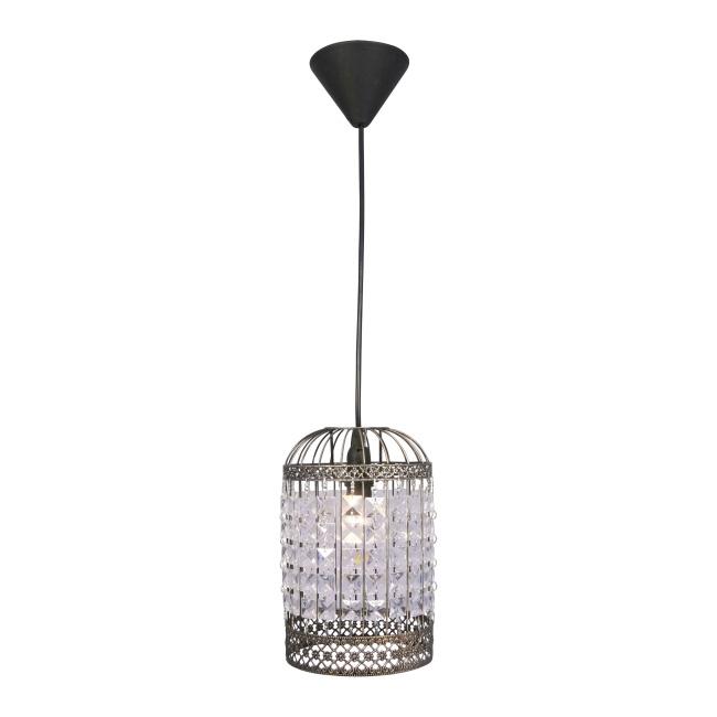 Lampa wisząca Dukat 1 x 40 W E14 patyna