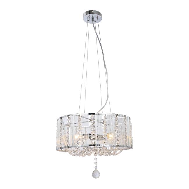 Lampa wisząca Evarton 3 x 40 W E14 chrom