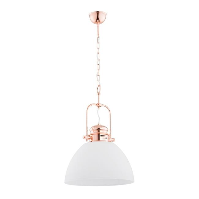 Lampa wisząca Inez Copper 1 x 60 W E27