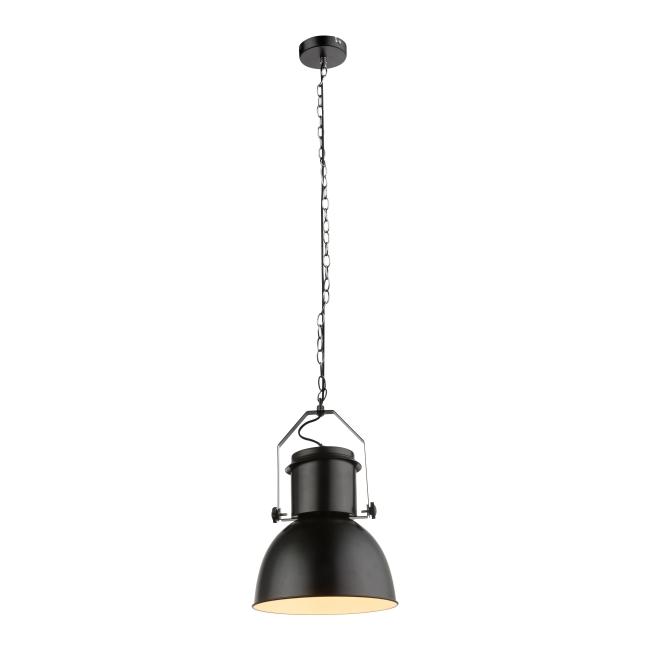 Lampa wisząca Katum 1 x 40 W E27 czarna