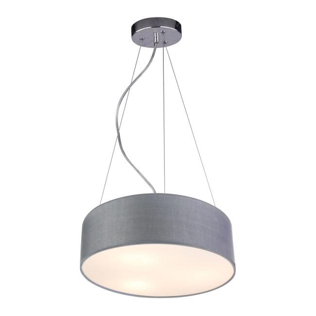 Lampa wisząca Kioto 3 x 40 W E27 jasnoszara
