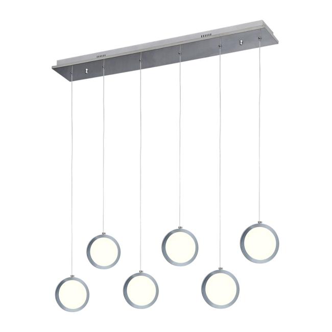 Lampa wisząca LED Circolo 1 x 42 W chrom