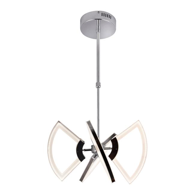 Lampa wisząca LED Eviana 4 x 6 W chrom