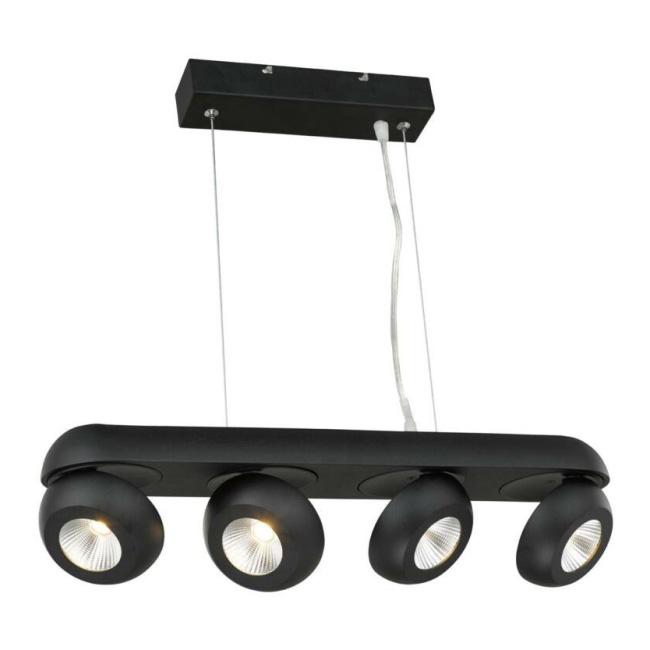 Lampa wisząca LED Flare 1 x 40 W czarna