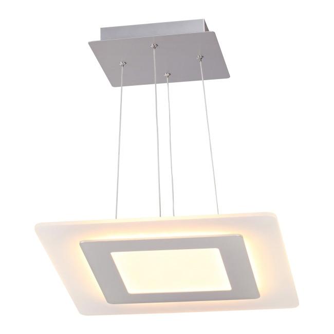 Lampa wisząca LED Larvik 1 x 25 W biała
