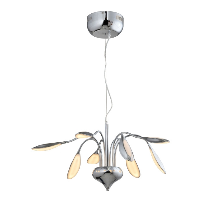 Lampa wisząca LED Paloma 8 x 5 3 W chrom