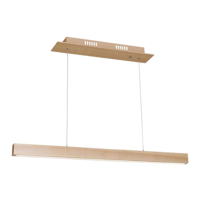 Lampa wisząca LED Timber 1 x 18 W naturalne drewno