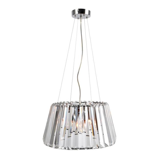Lampa wisząca Lida 3 x 40 W E14 chrom