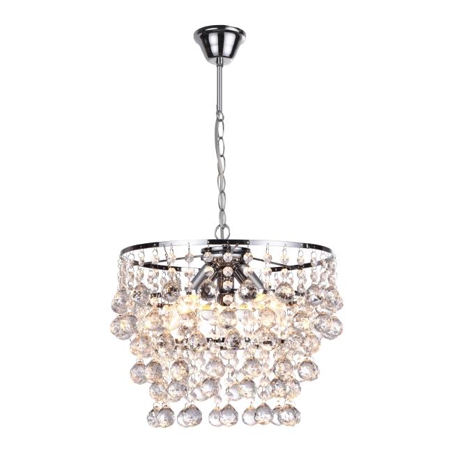 Lampa wisząca London 3 x 40 W E14 chrom