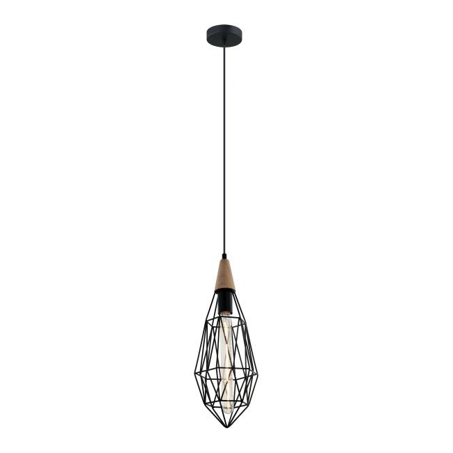Lampa wisząca Maelle 1 x 40 W E14 black