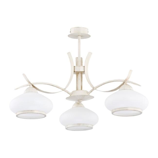 Lampa wisząca Odetta 3 x 40 W E14 beżowa