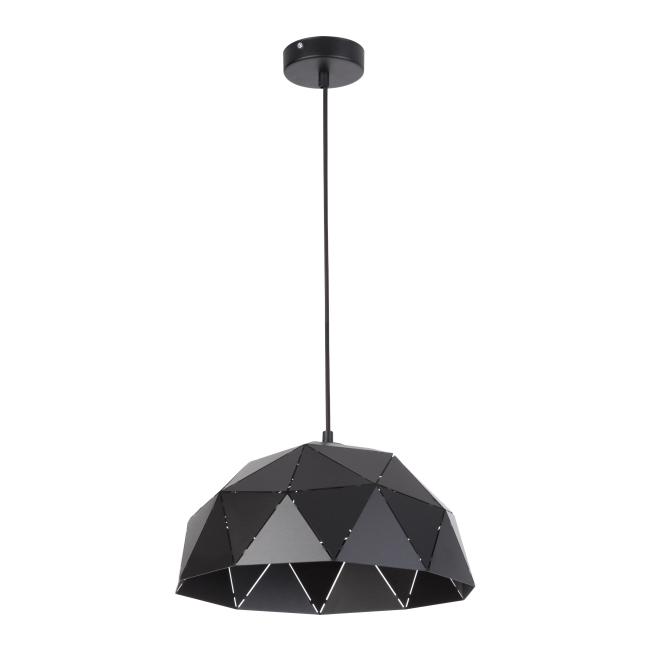 Lampa wisząca Origami M 1 x 60 W E27 czarna
