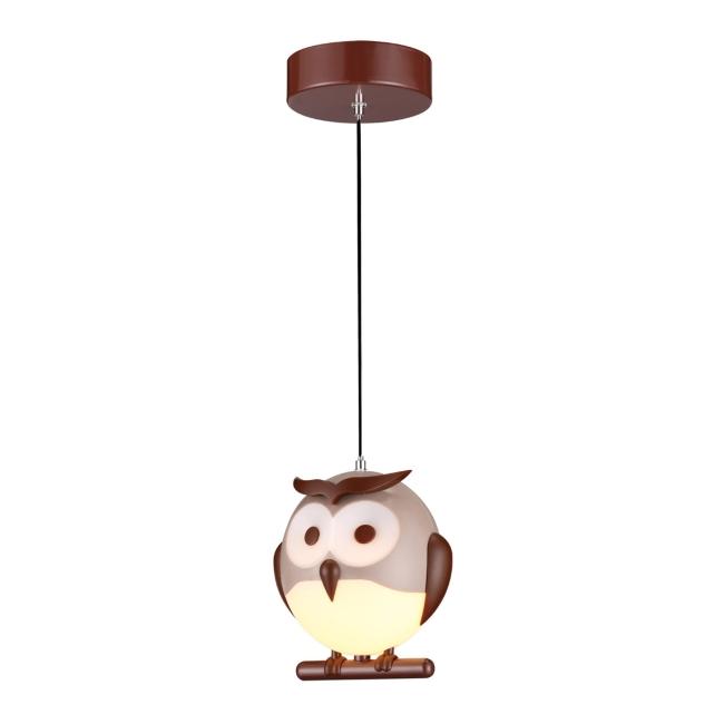 Lampa wisząca Owl 1 x 40 W E14 tworzywo sztuczne