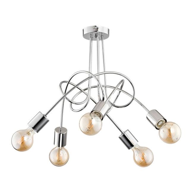 Lampa wisząca Tango 5 x 60 W E27 chrom