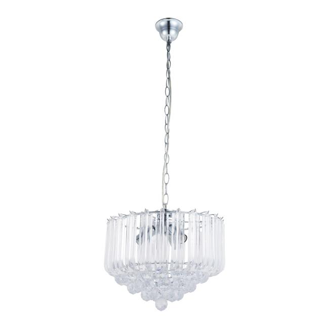 Lampa wisząca Utah 3 x 40 W E14 chrom
