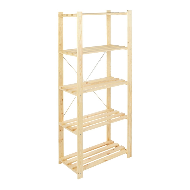 Regał drewniany Form Symbios 40 x 75 x 170 cm 40 kg