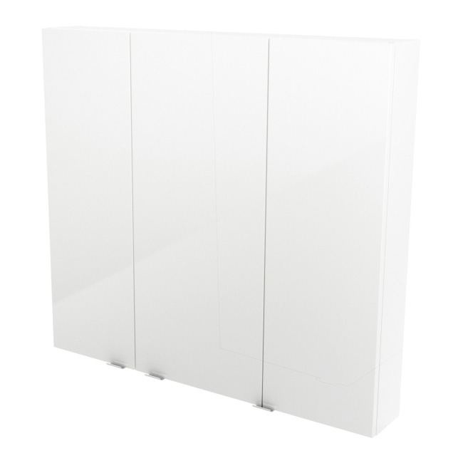 Szafka Cooke&Lewis Imandra 100 x 90 x 15 cm biała