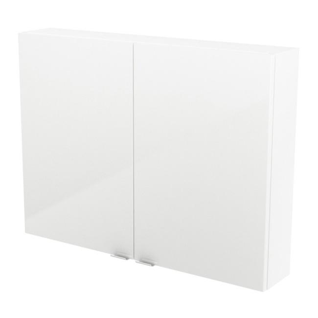 Szafka Cooke&Lewis Imandra 80 x 60 x 15 cm biała