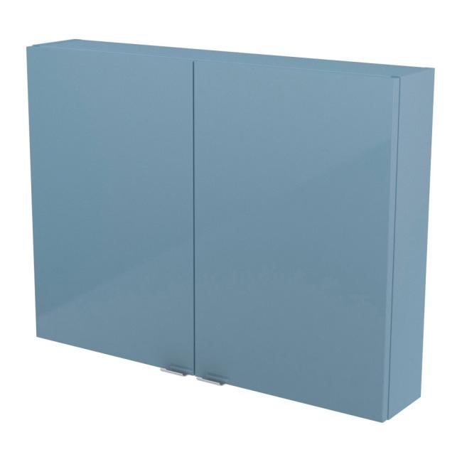 Szafka Cooke&Lewis Imandra 80 x 60 x 15 cm niebieska