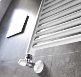 Grzejnik łazienkowy Blyss Profilowany 1100 X 600 Mm Biały