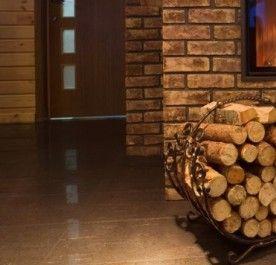 Kosz Na Drewno Czarny Zestawy Kominkowe Czyszczenie I