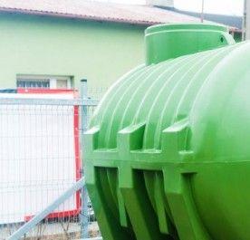 Bardzo dobra Zbiornik na deszczówkę Biosmart 1000 l - Oczyszczalnie - Oczyszczanie IS82