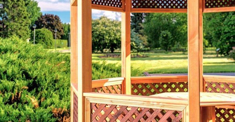 Altanka Ogrodowa Jak Zabudować Jej ściany Inspiracje I