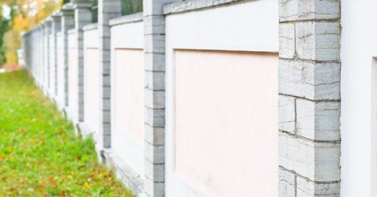 Budowa Ogrodzenia Z Bloczkow Betonowych Krok Po Kroku Inspiracje