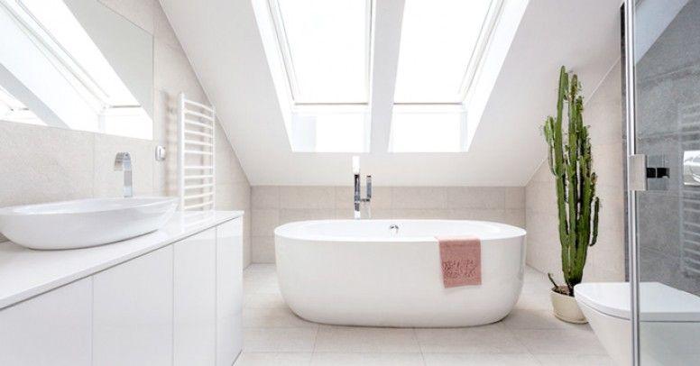 Jak Urządzić łazienkę Na Poddaszu Inspiracje I Porady