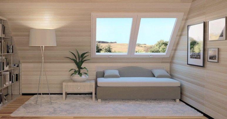 Nowoczesna architektura Okna na poddaszu - rodzaje, minusy oraz plusy poszczególnych CZ57