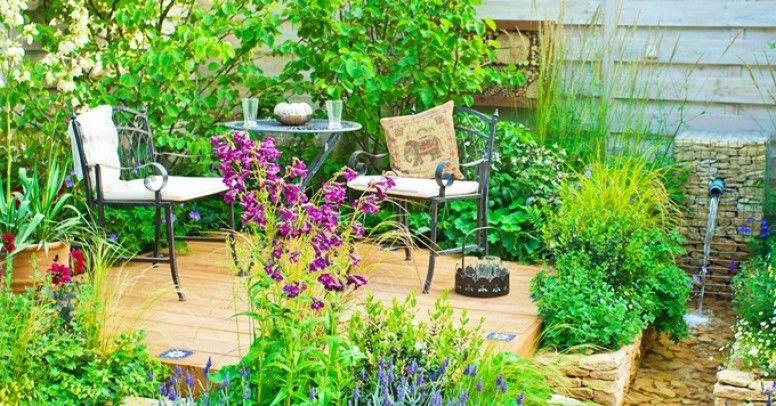 Pomysły Na Mały Ogród Jak Zaaranżować Miejsce Do Relaksu