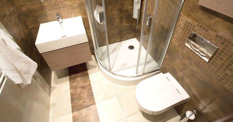 Projekt łazienki W Nietypowym Pomieszczeniu Małym Wąskim