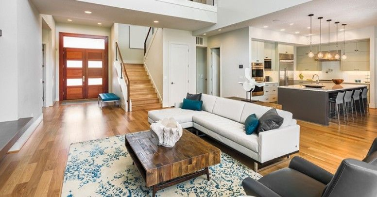 salon po czony z kuchni jak pod og wybra inspiracje i porady. Black Bedroom Furniture Sets. Home Design Ideas