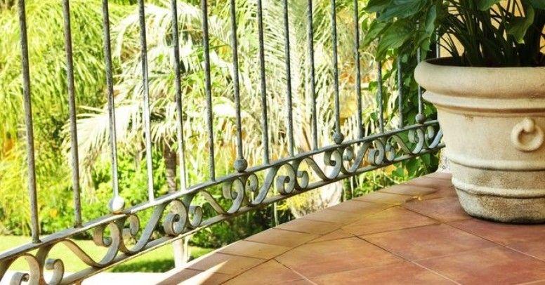 Balustrady Mocowane Od Góry Posadzki Balkonu Inspiracje I