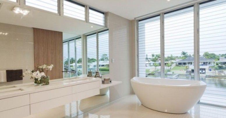 Nowoczesna łazienka Zbiór Dekoracji Inspiracje I Porady