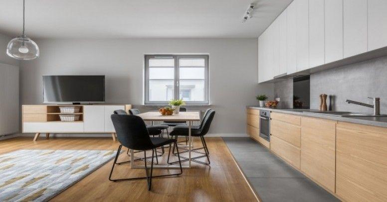 Kuchnia Otwarta Metamorfoza W Małym Mieszkaniu