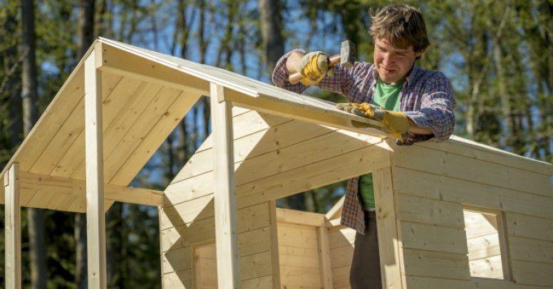 Jak Szybko I Tanio Zrobic Domek Drewniany Dla Dzieci Inspiracje I Porady