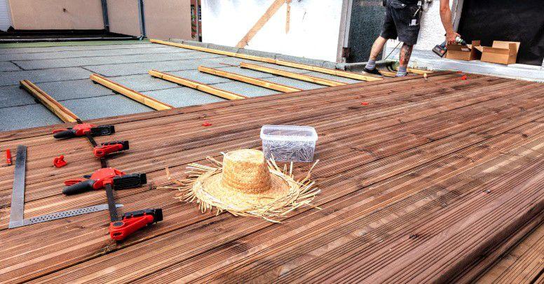 Jak Zrobić Taras Drewniany Na Betonie Sposoby Układania