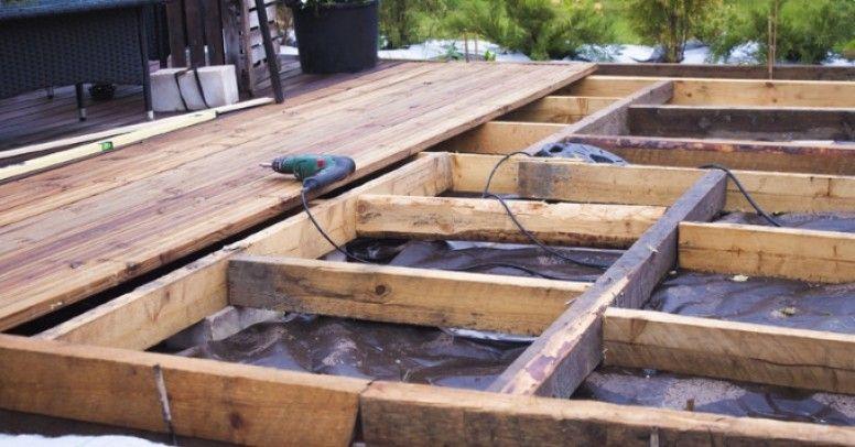Instrukcja Wideo Budowa Drewnianego Tarasu Inspiracje I