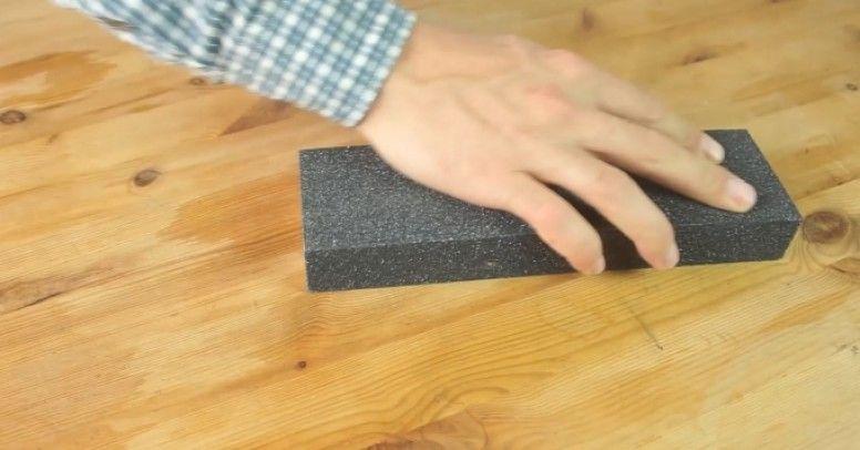 Instrukcja Wideo Jak Odnowić Drewniany Blat Inspiracje