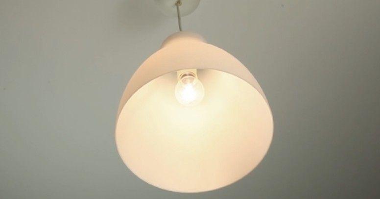 klosz lampy wiszącej montaż