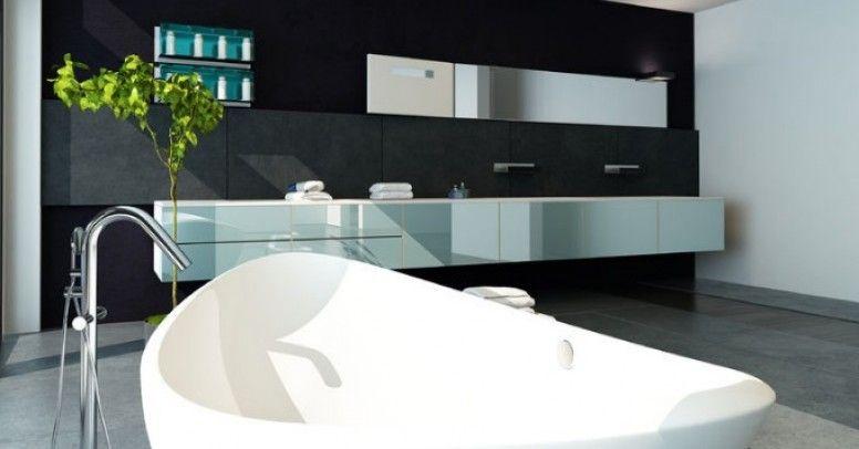 łazienka Black And White Inspiracje I Porady