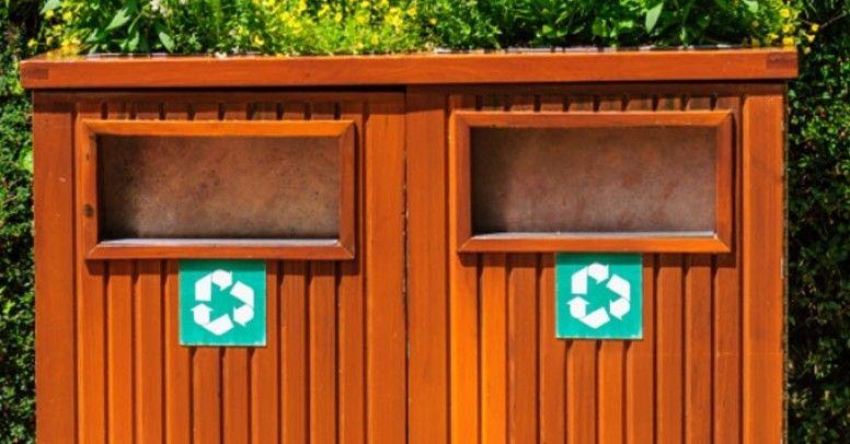 Niesamowite Miejsce na śmietnik: jak ukryć kubły na śmieci? - Inspiracje i porady RB29